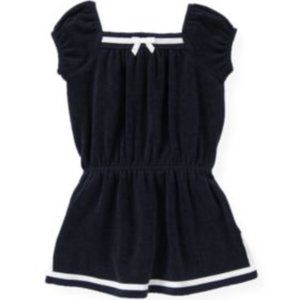 Janie & Jack Sailor Terry Swim Cover-Up